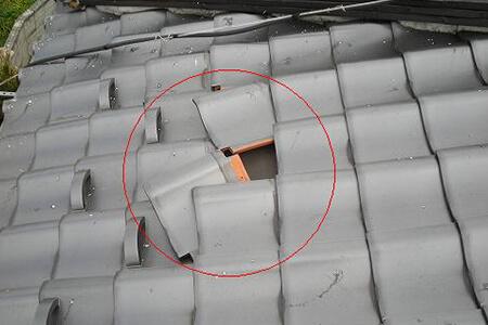 地震対策としておすすめは葺き替え工事