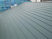 新規で屋根を建立されたお客様例