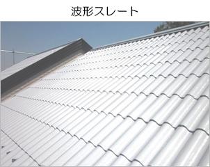 カバー工法が不向きな、平らでない屋根の例
