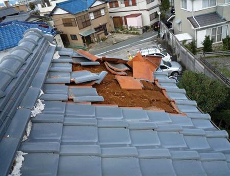 1.既存屋根材の撤去