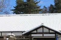 屋根の雪対策について