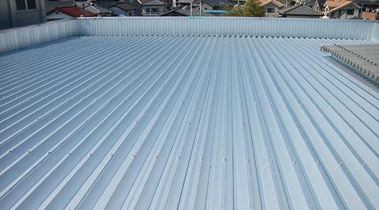 工場・倉庫の屋根の種類について
