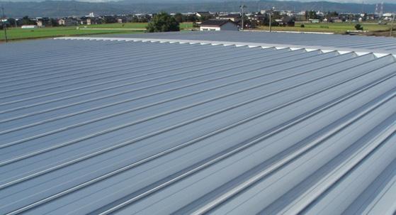折板屋根の様々なタイプ