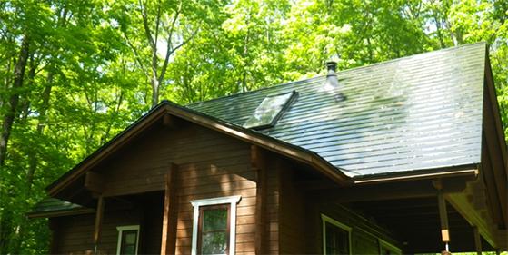 別荘屋根の塗替えリフォームについて