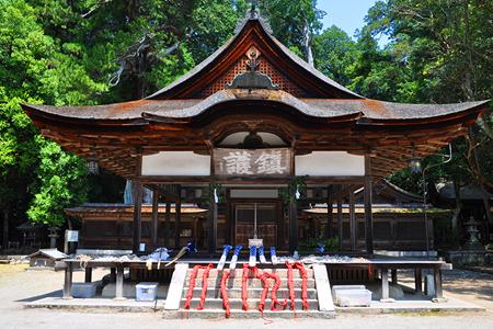 神社の屋根の種類につい